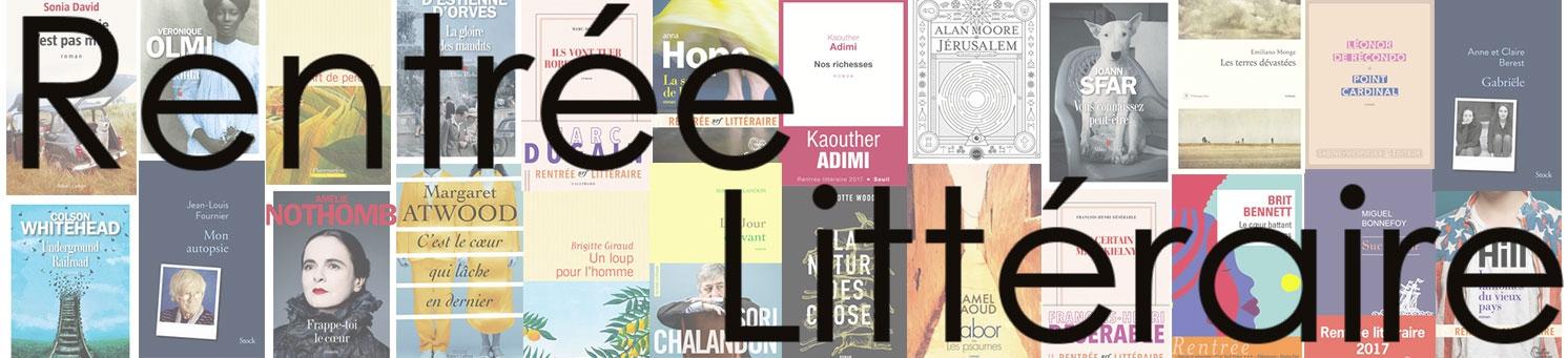 Découvrez notre sélection de la rentrée littéraire !