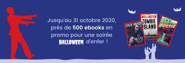 Plus de 500 ebooks en promo pour une soirée d'Halloween d'enfer !