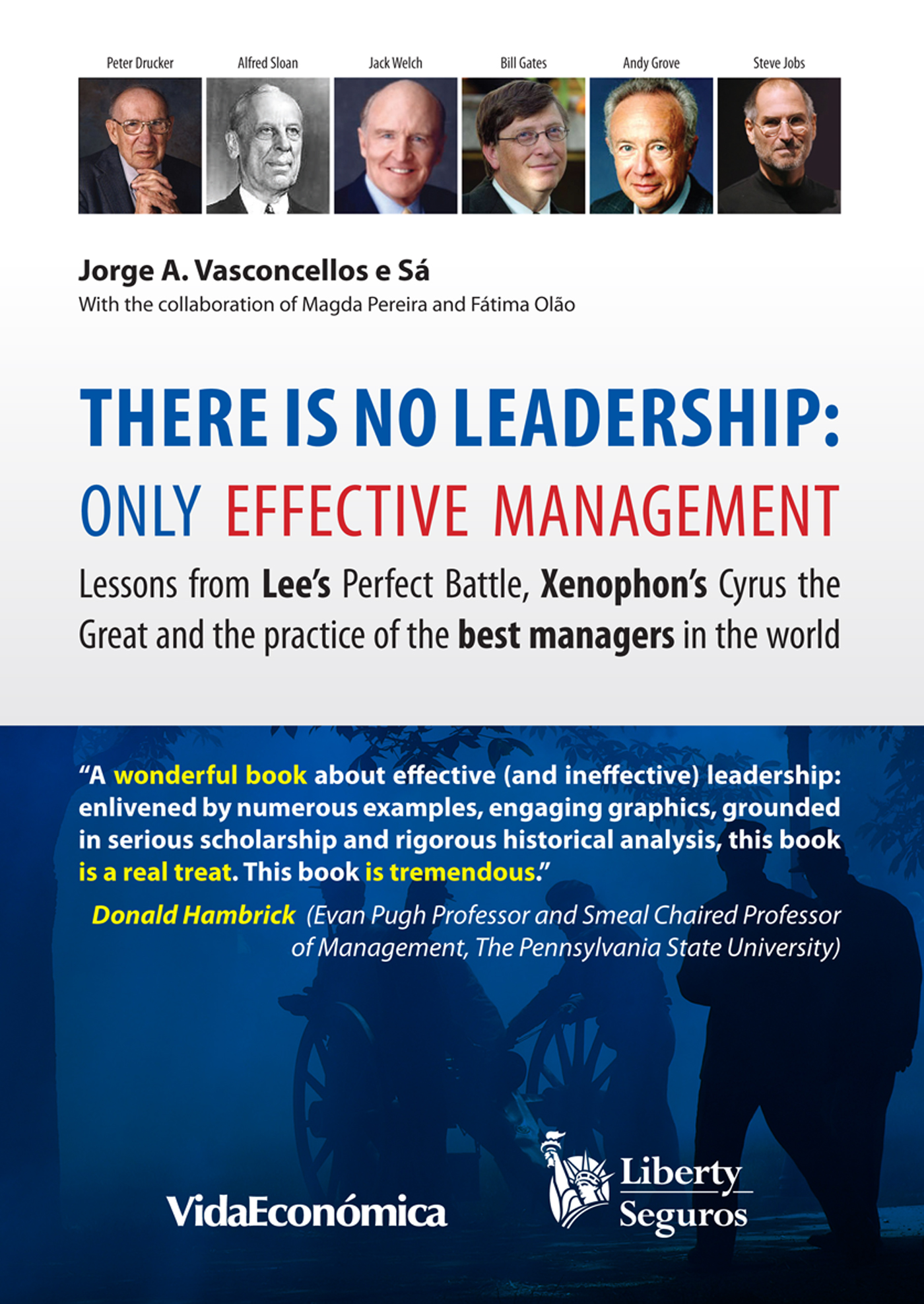 There is no leadership: only effective management