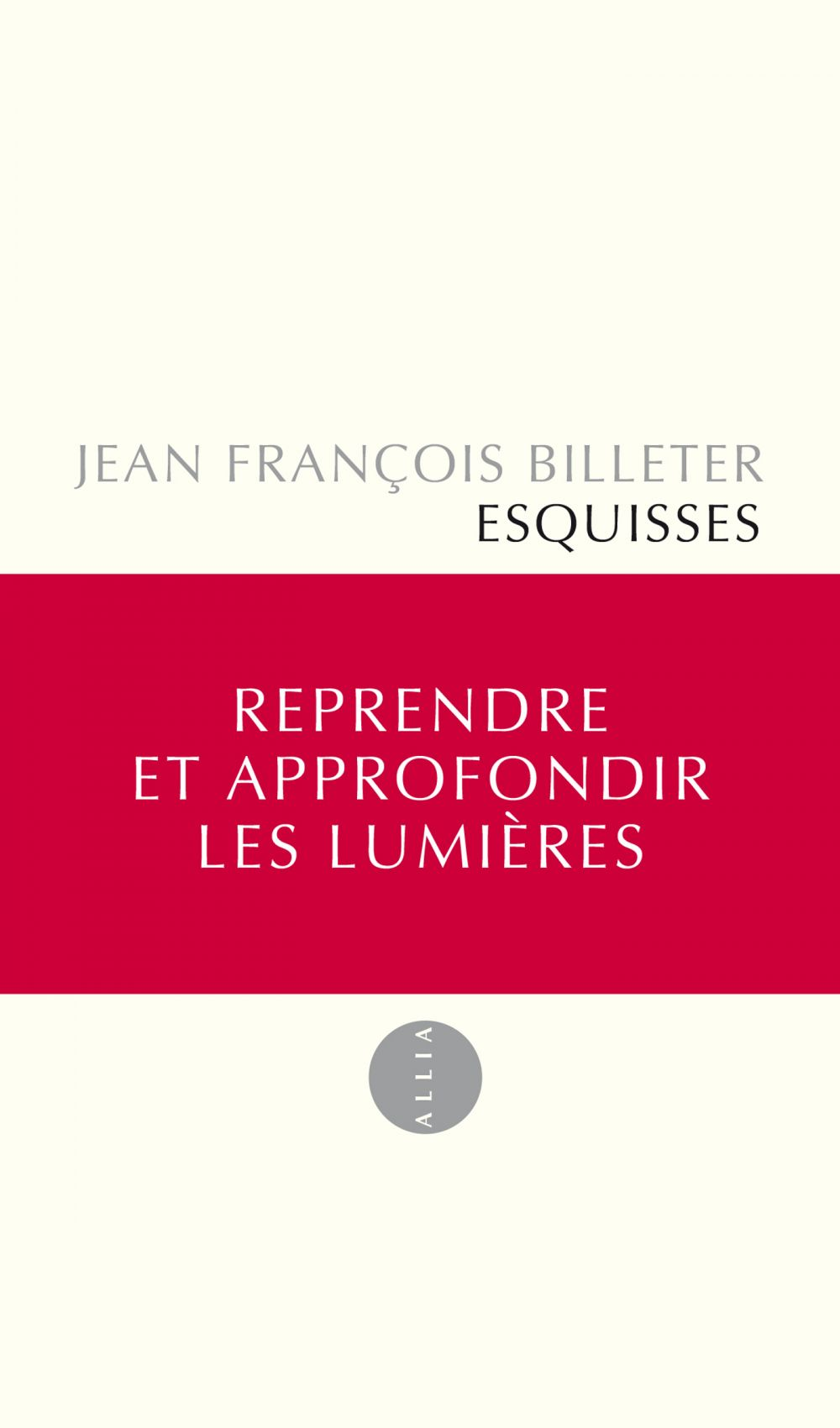 Esquisses (édition remaniée)
