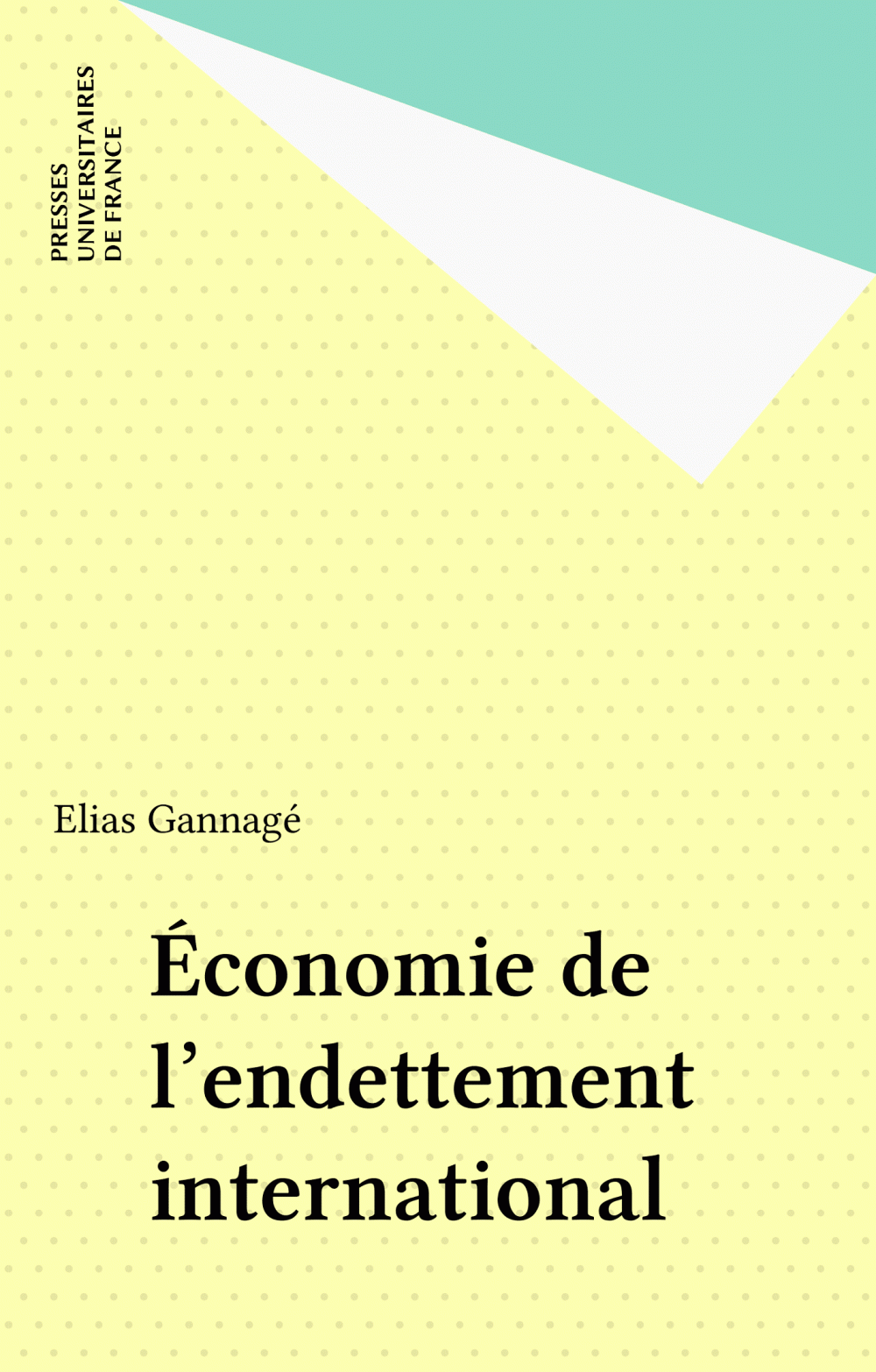 Économie de l'endettement international
