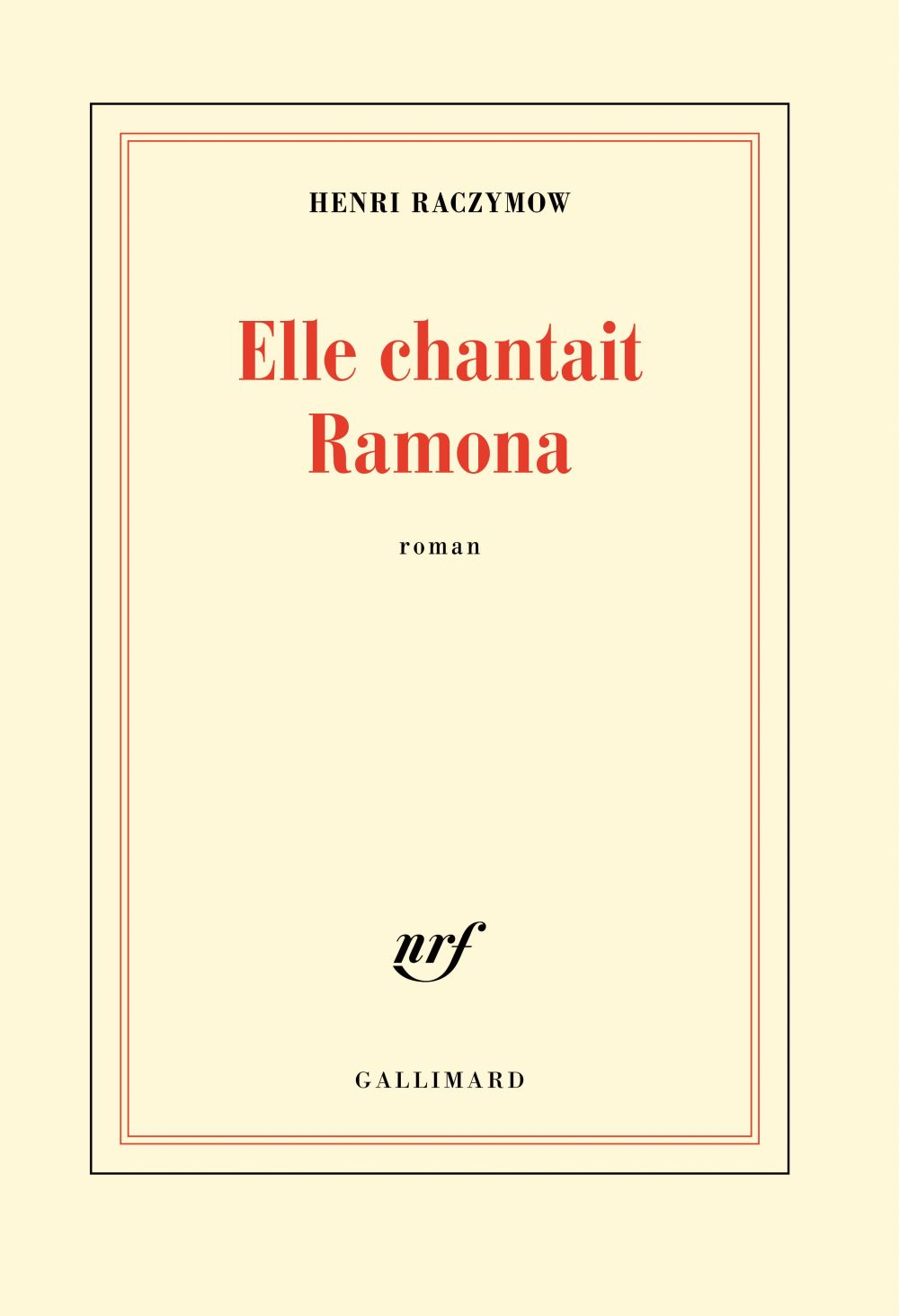 Elle chantait Ramona