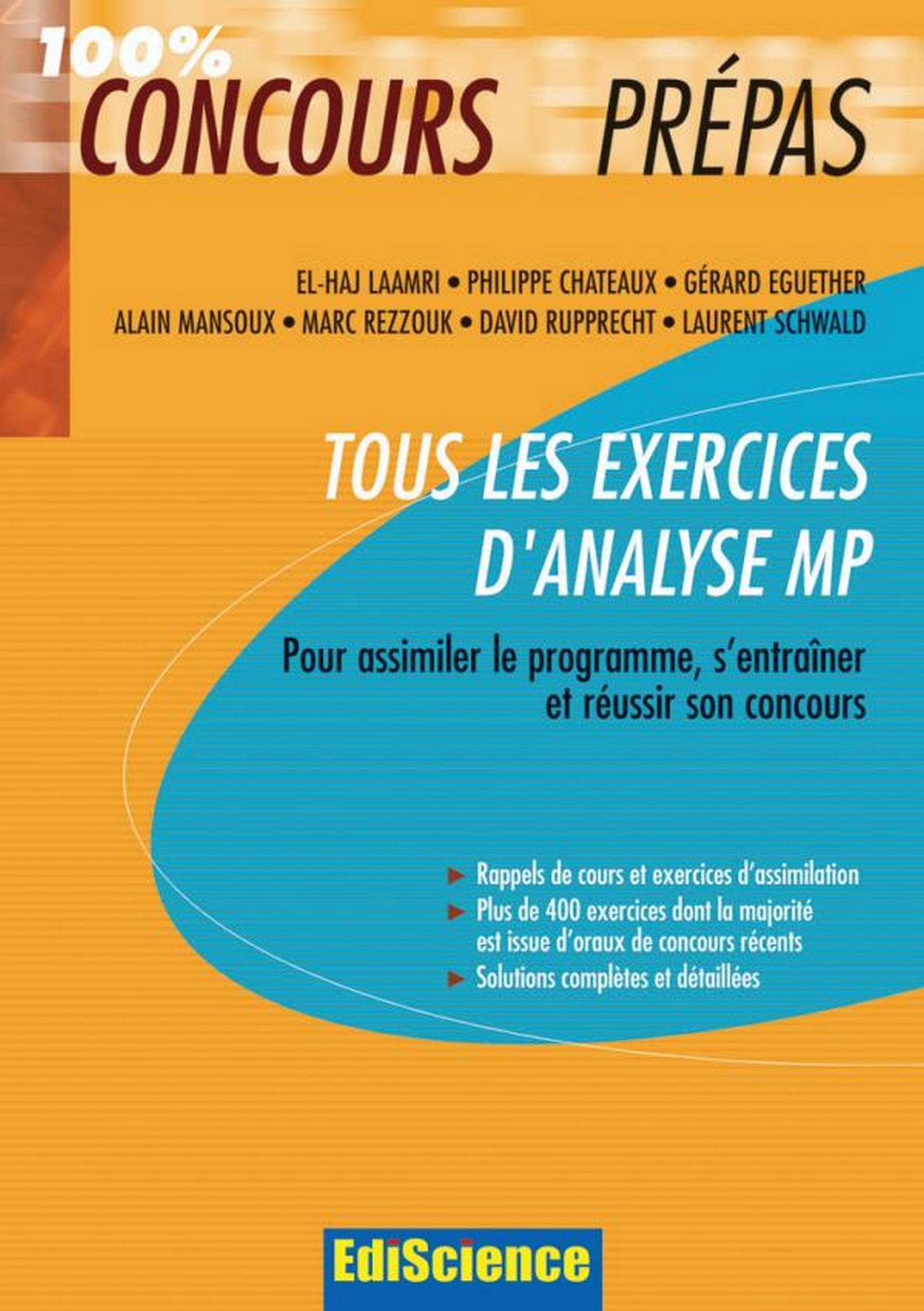 Tous les exercices d'Analyse MP
