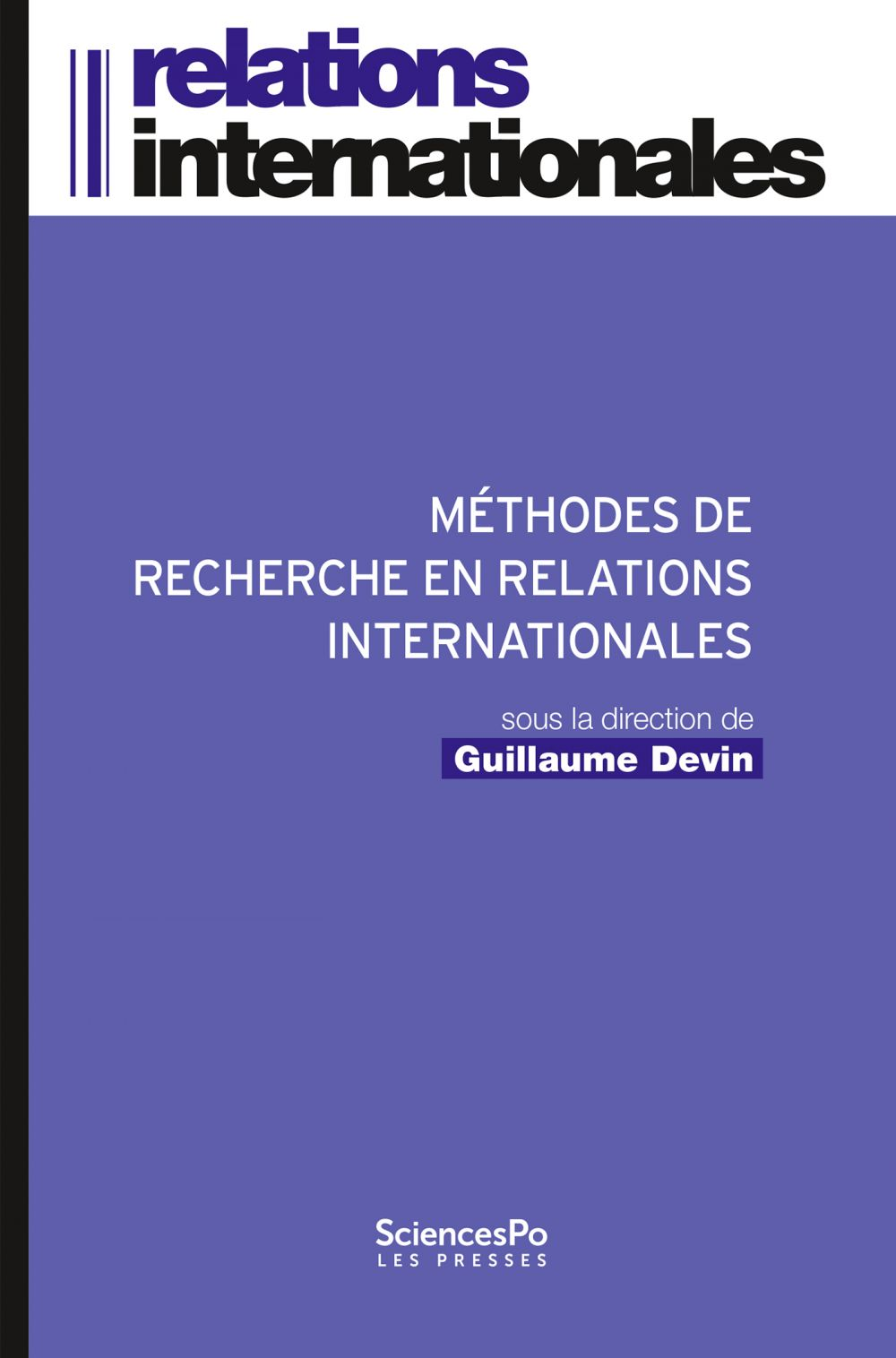 Methodes de recherche en relations internationales