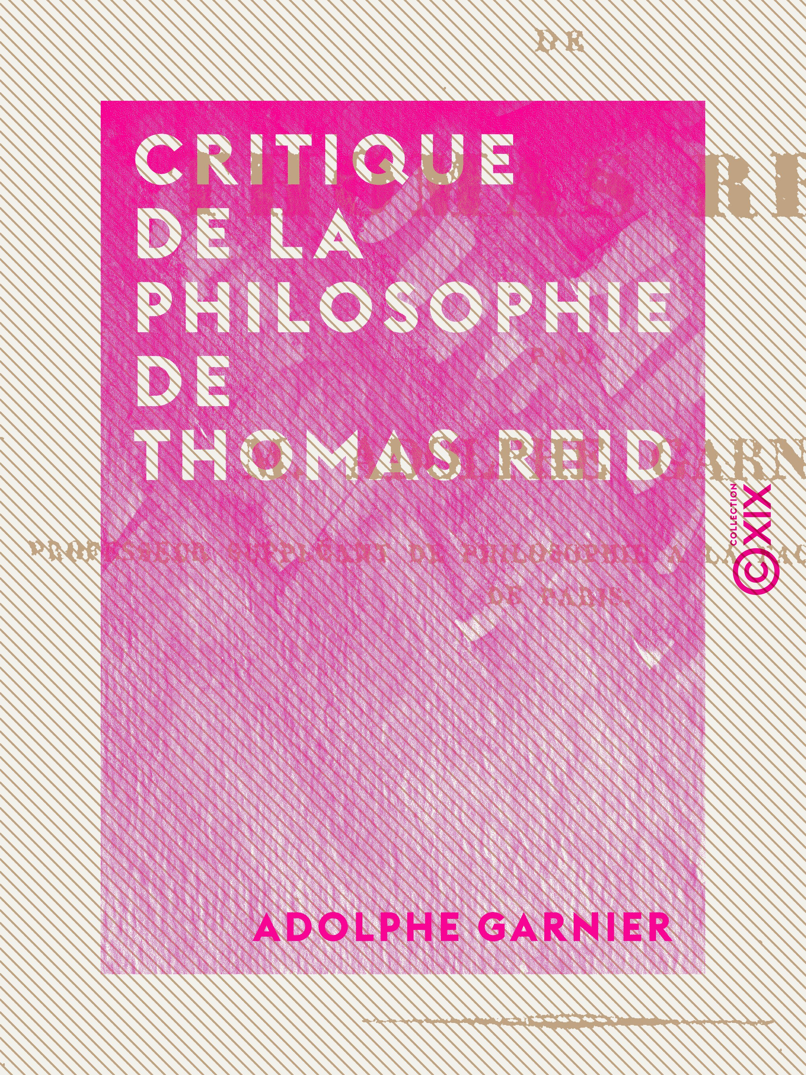 Critique de la philosophie de Thomas Reid