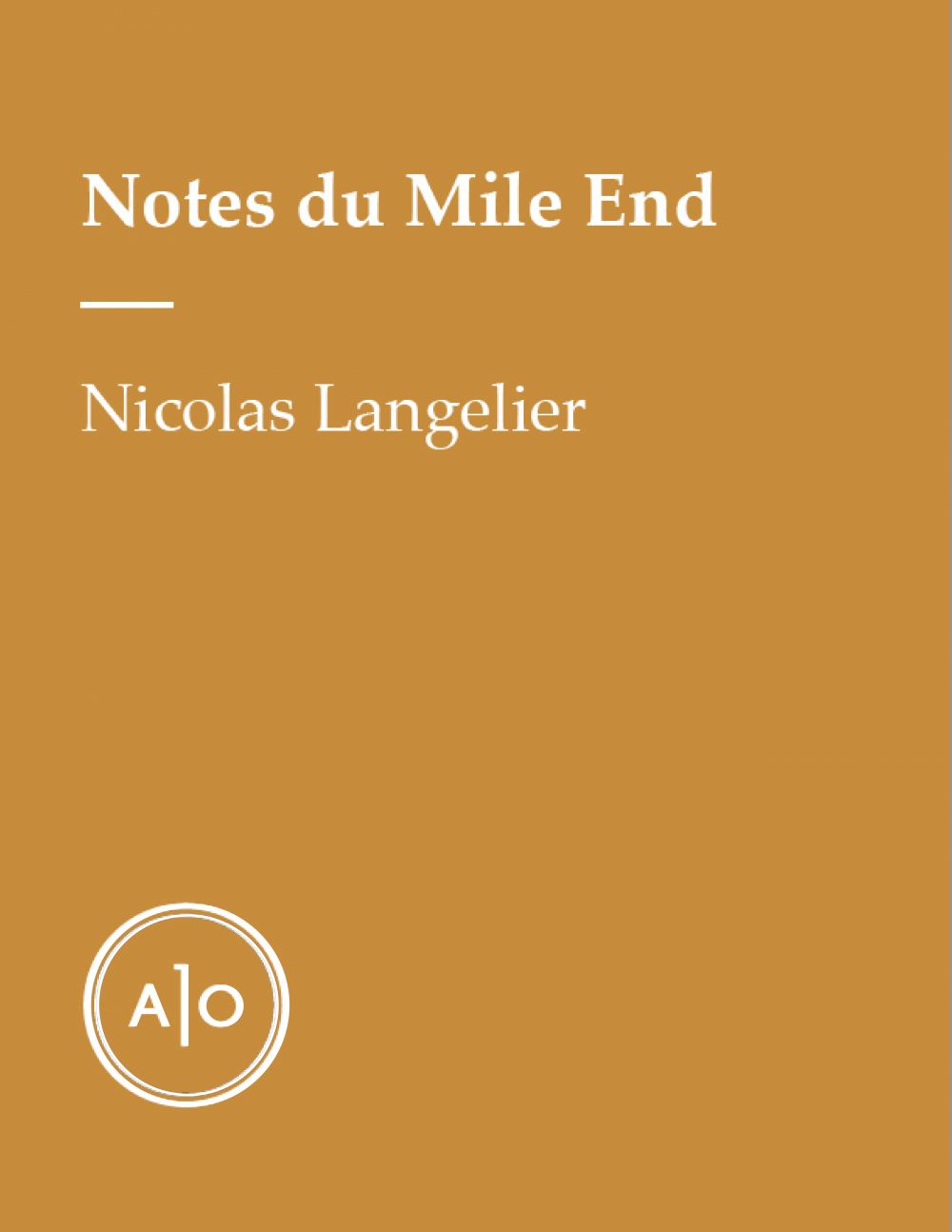 Notes du Mile End