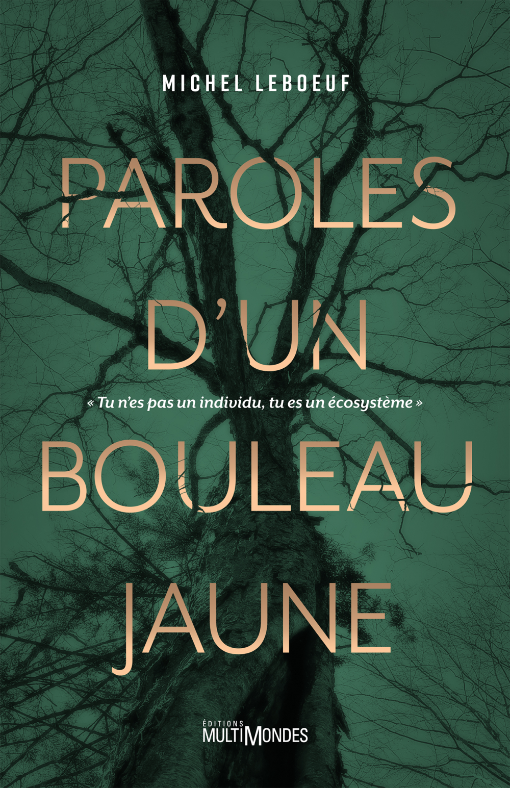 Paroles d'un bouleau jaune