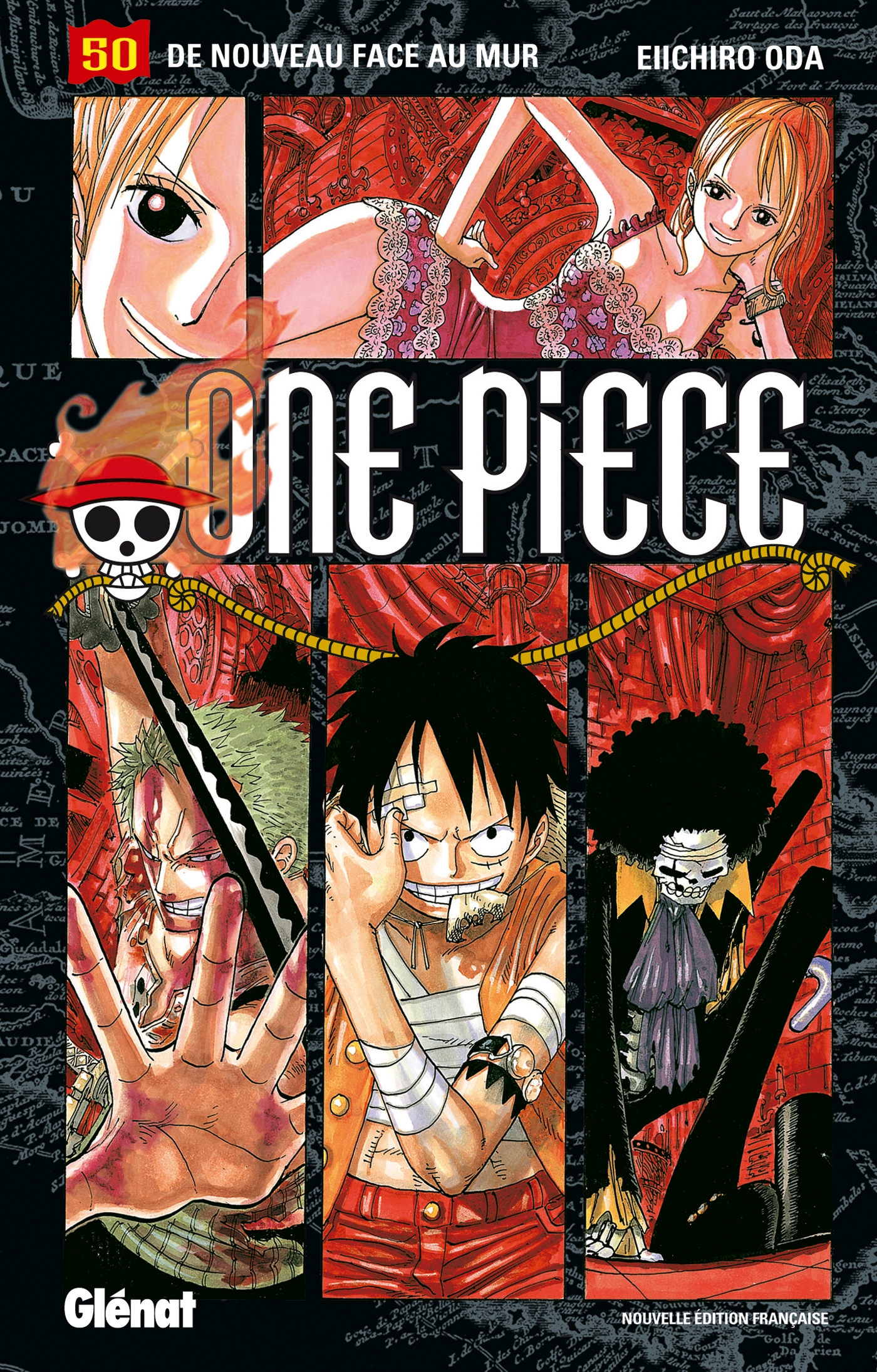 One Piece - Édition originale - Tome 50, DE NOUVEAU FACE AU MUR