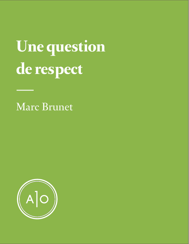 Une question de respect