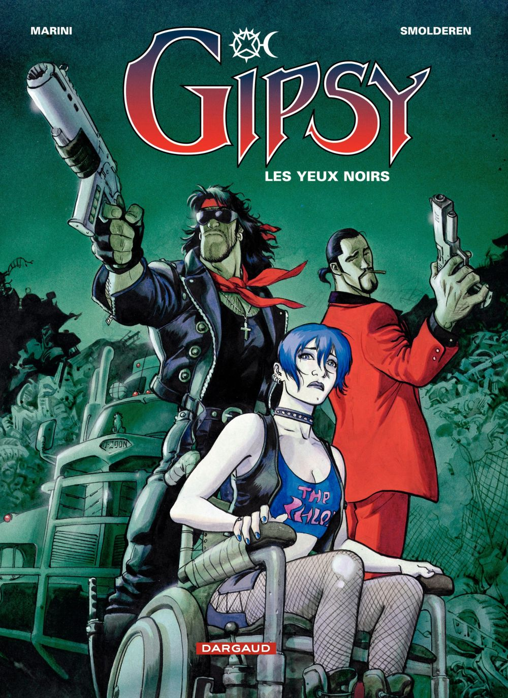 Gipsy – tome 4 – Les Yeux noirs