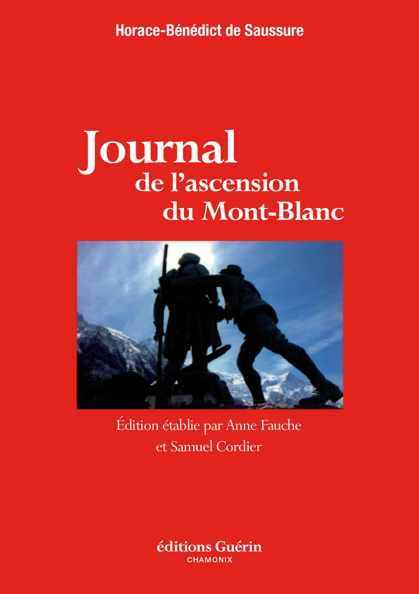 Journal de l'ascension du Mont-Blanc