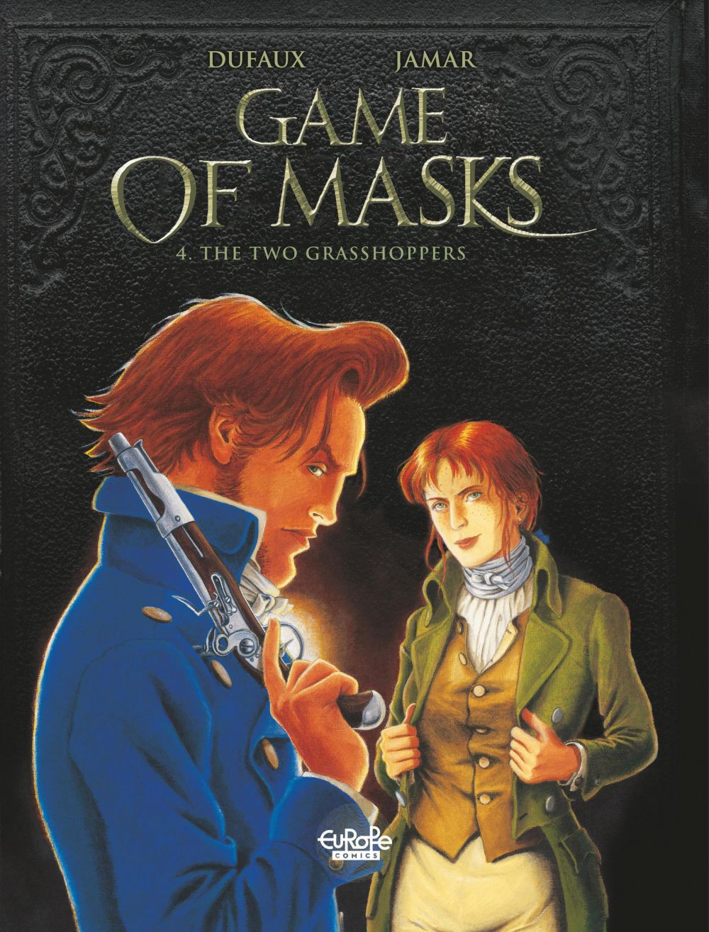 Double Masque - Tome 4 - 4. The Two Grasshoppers