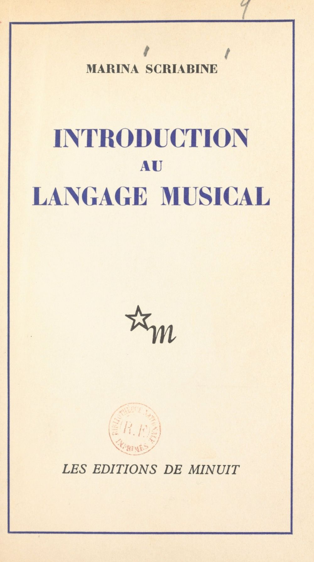 Introduction au langage musical