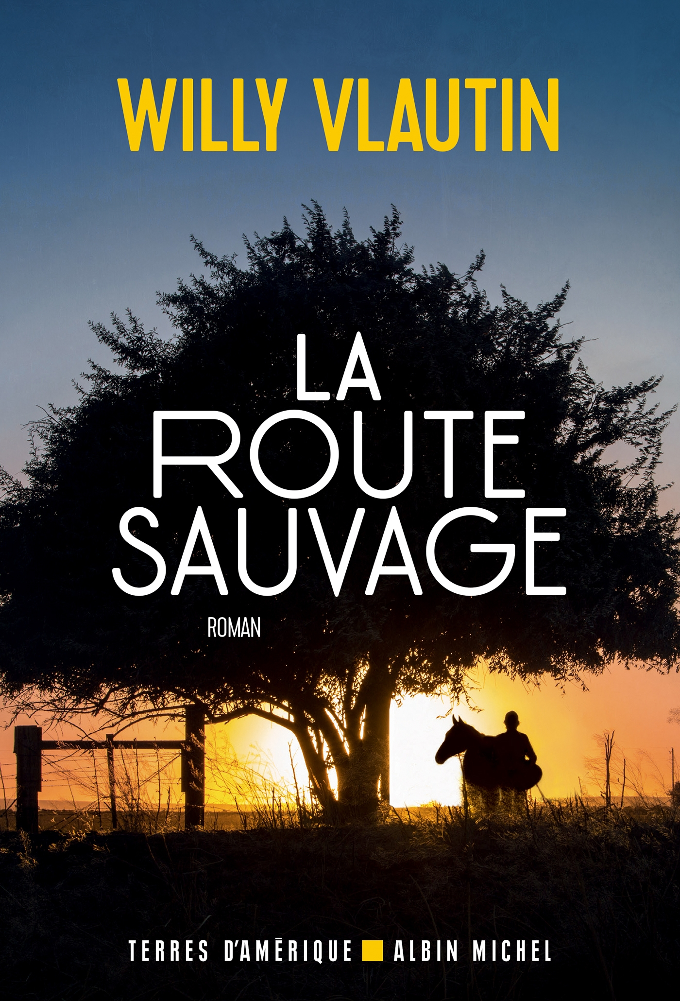 La Route sauvage | Vlautin, Willy. Auteur