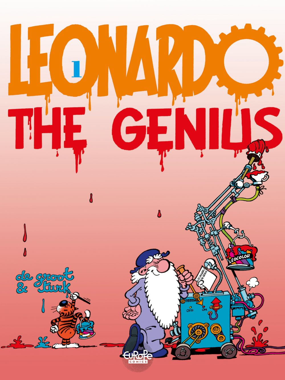 Léonard - Tome 1 - 1. Leonardo the genius