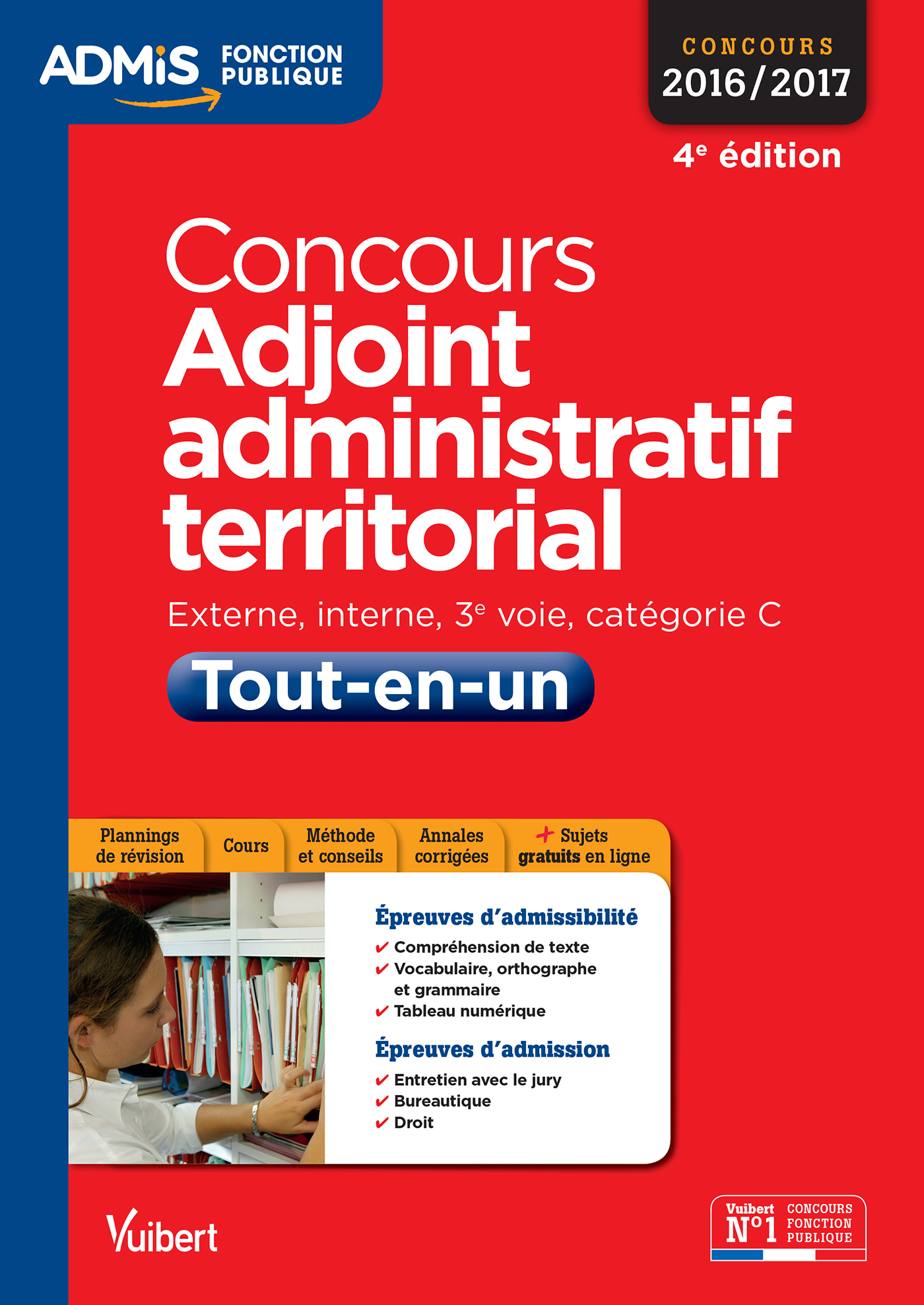 Concours Adjoint administratif territorial