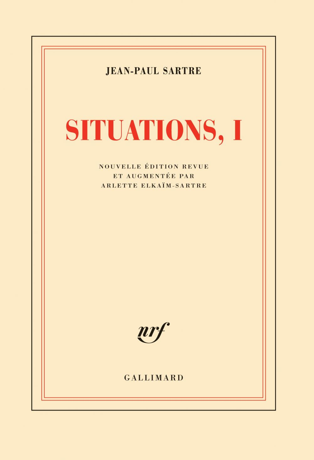 Situations (Tome 1) - Février 1938 - septembre 1944