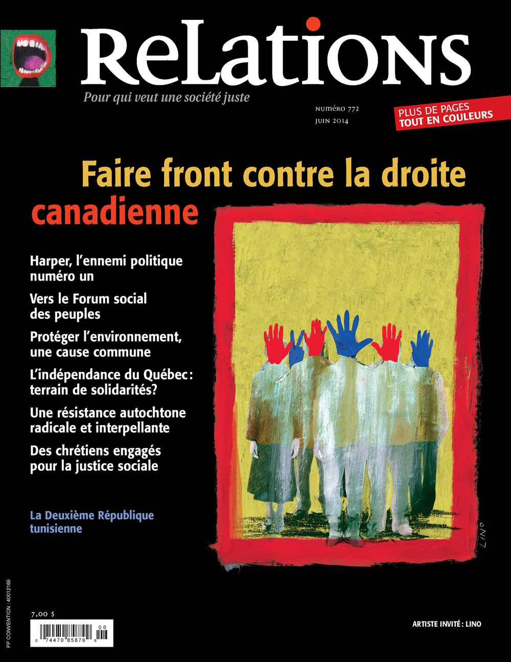 Relations. No. 772, Mai-Juin 2014