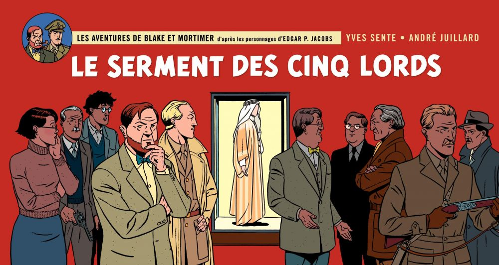 Blake & Mortimer - tome 21 - Le serment des cinq Lords - version panoramique
