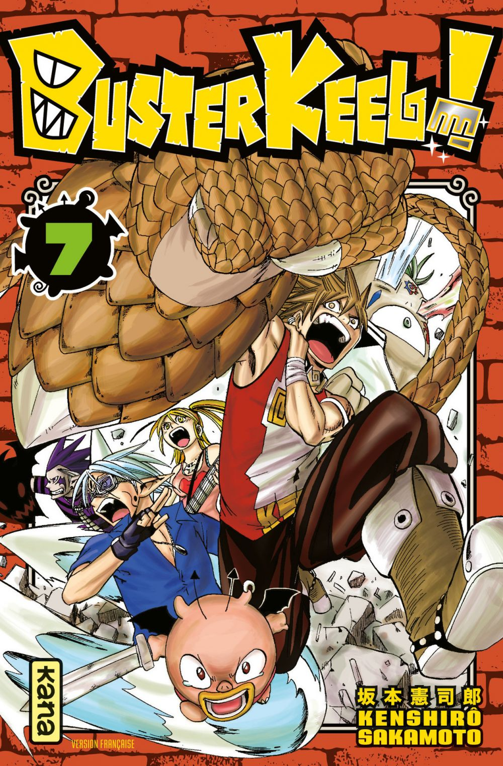 Buster Keel ! - Tome 7
