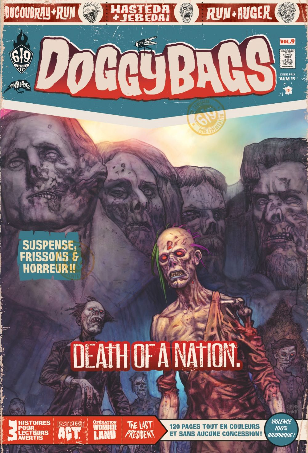 DoggyBags - Tome 9 - Death of a nation