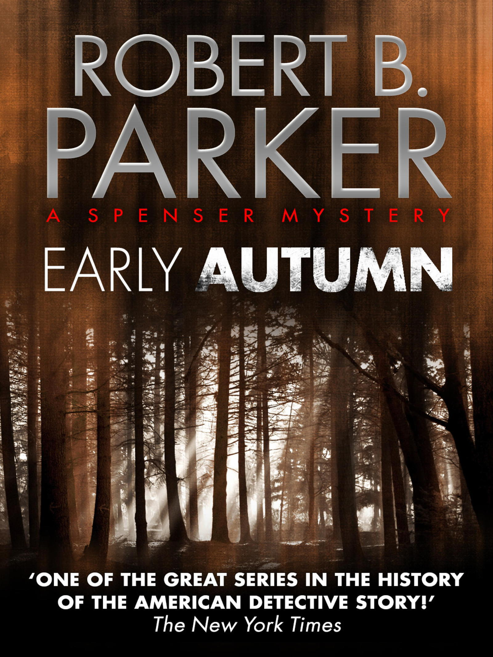 Early Autumn (A Spenser Mystery)