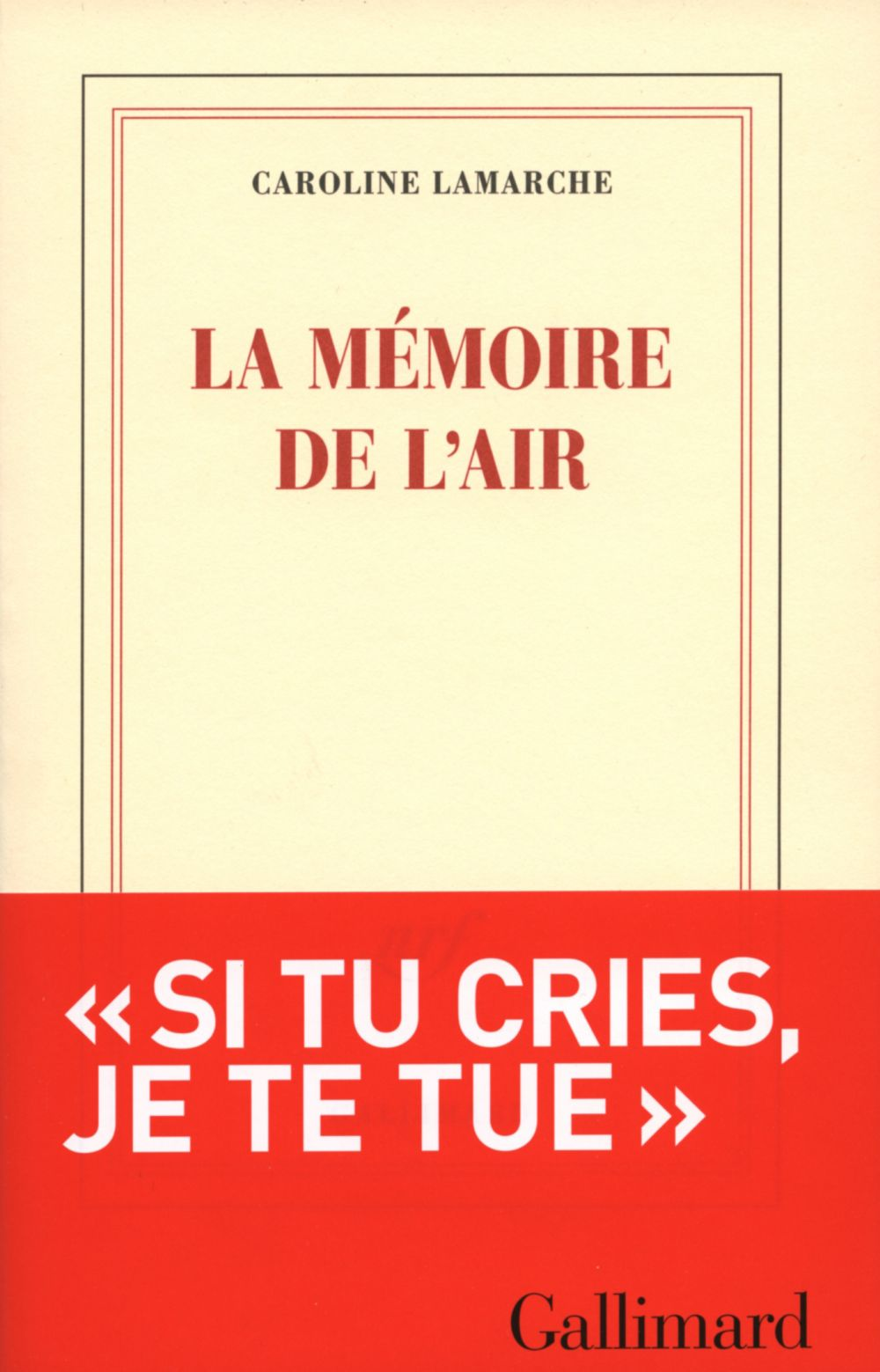 La mémoire de l'air