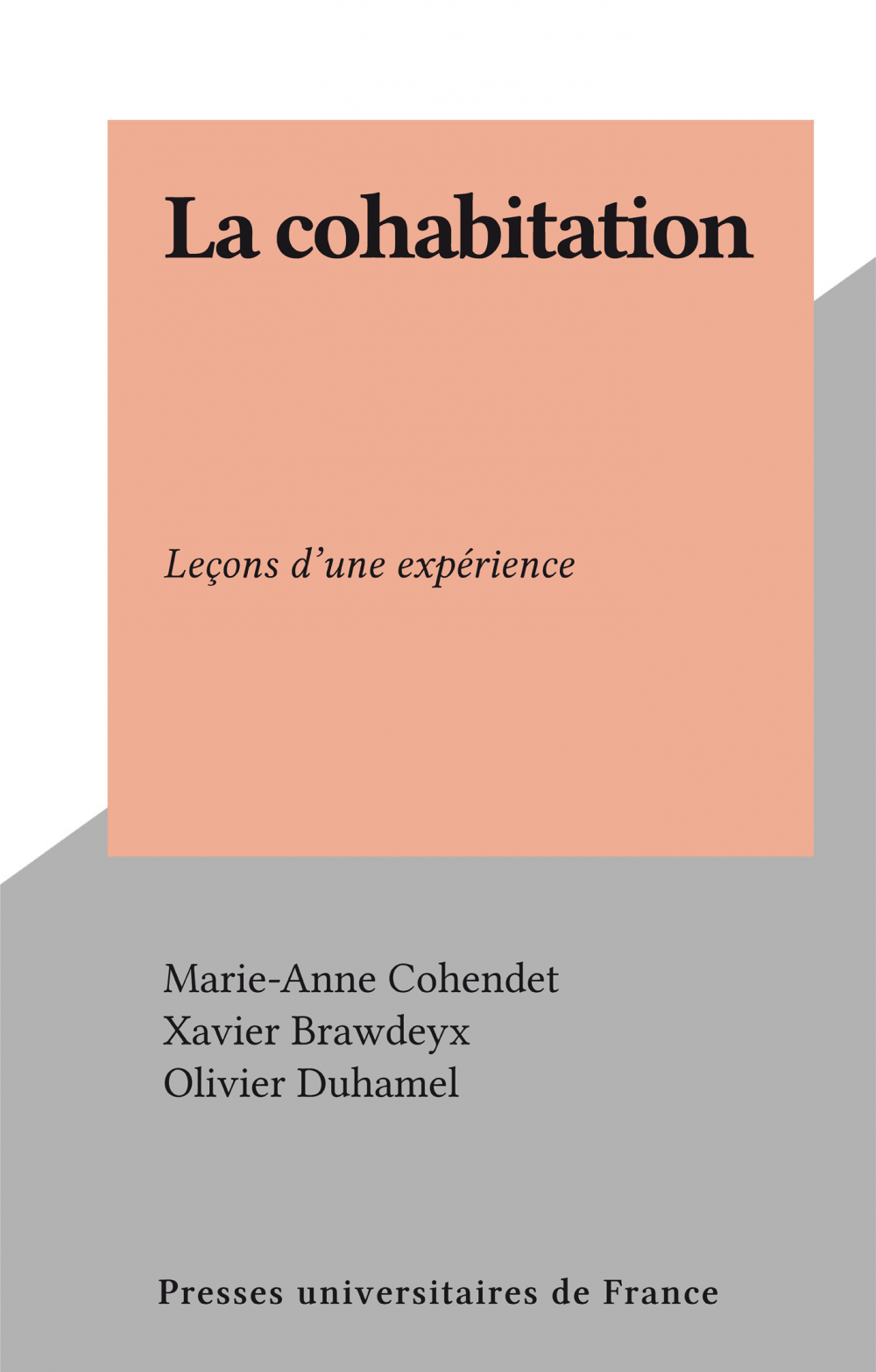 La cohabitation
