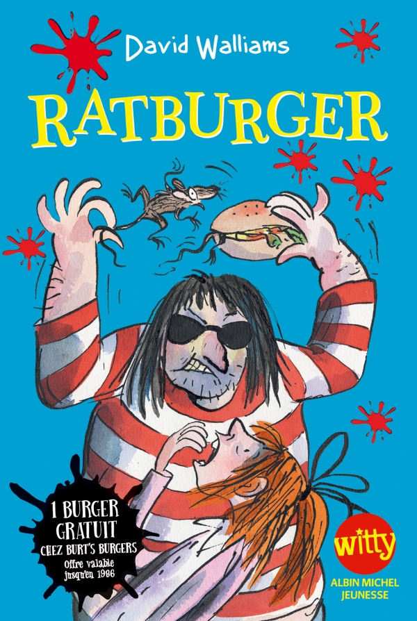Ratburger | Walliams, David. Auteur