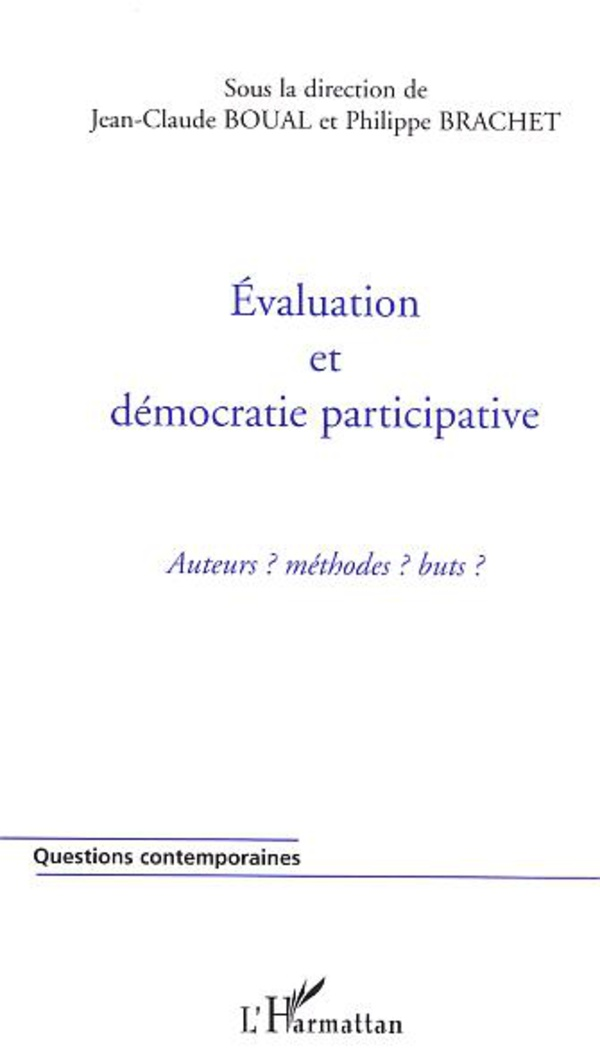 Evaluation et démocratie participative