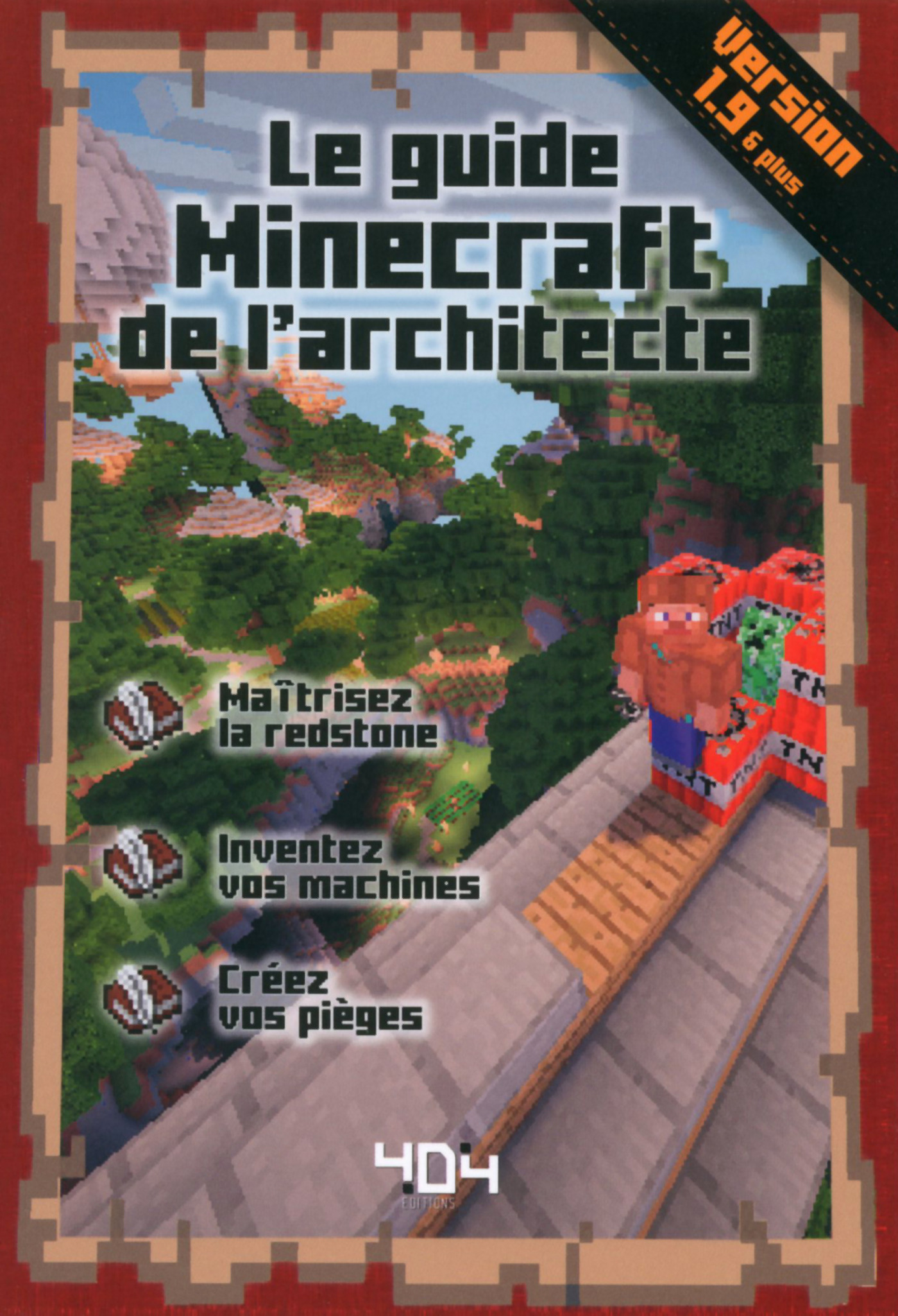 Le guide Minecraft de l'architecte - Version 1.10