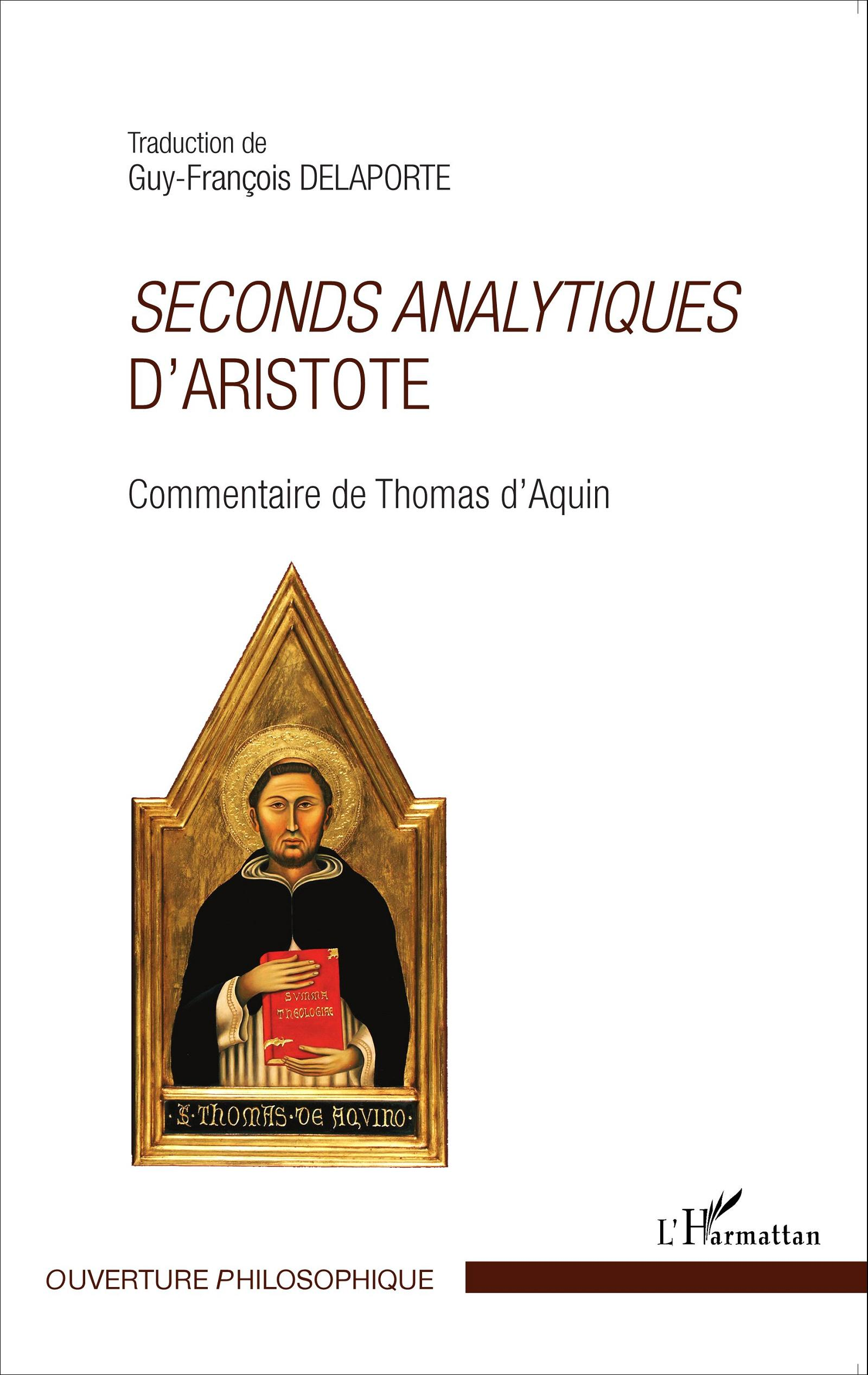 Seconds analytiques d'Aristote