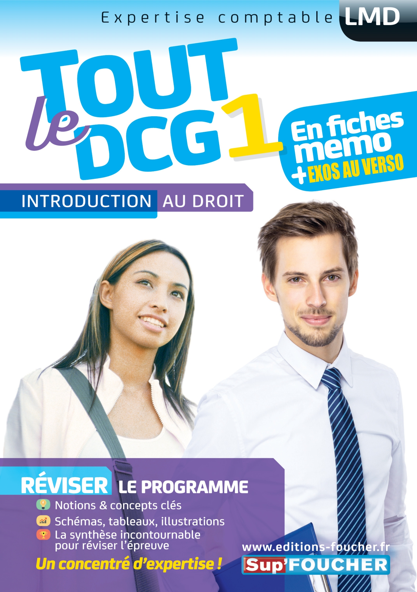 Tout le DCG 1 -  Introduction au droit