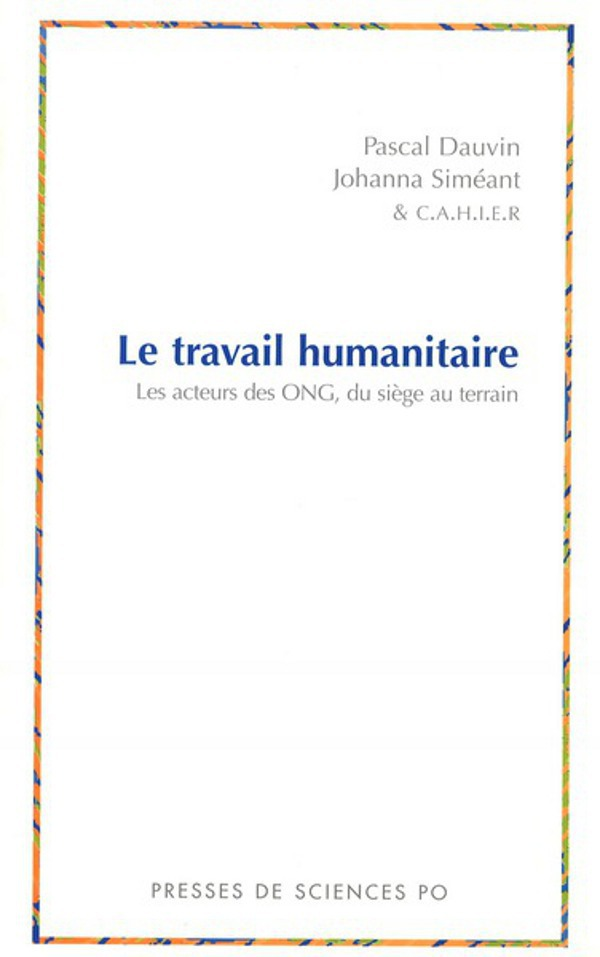 Le travail humanitaire