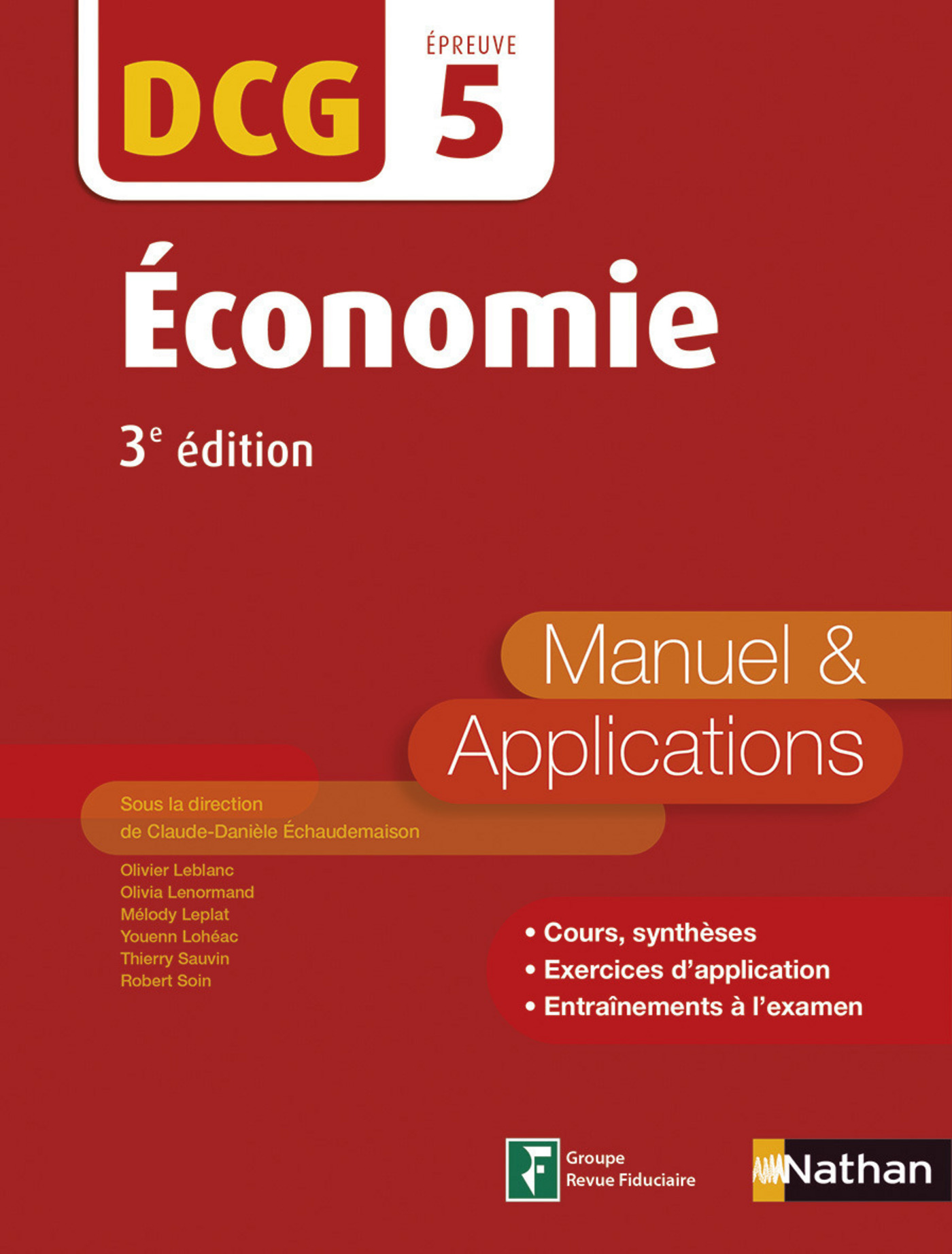 Economie - DCG 5 - Manuel et applications