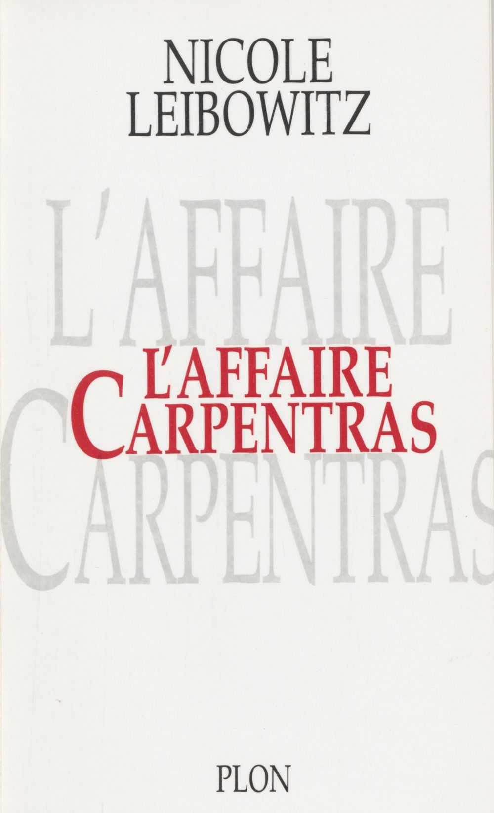 L'Affaire Carpentras