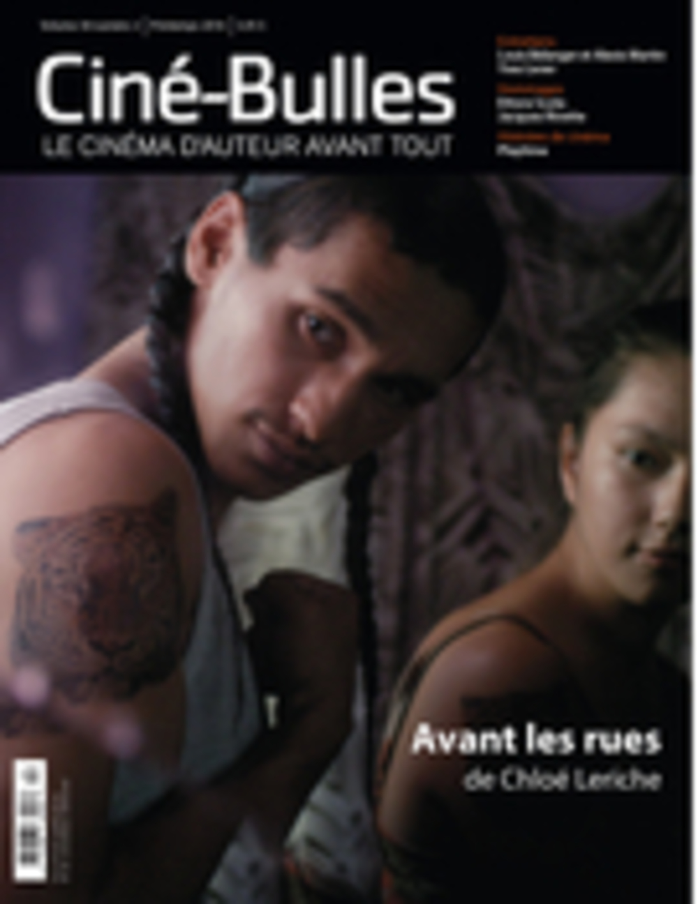 Ciné-Bulles. Vol. 34 No. 2, Printemps 2016