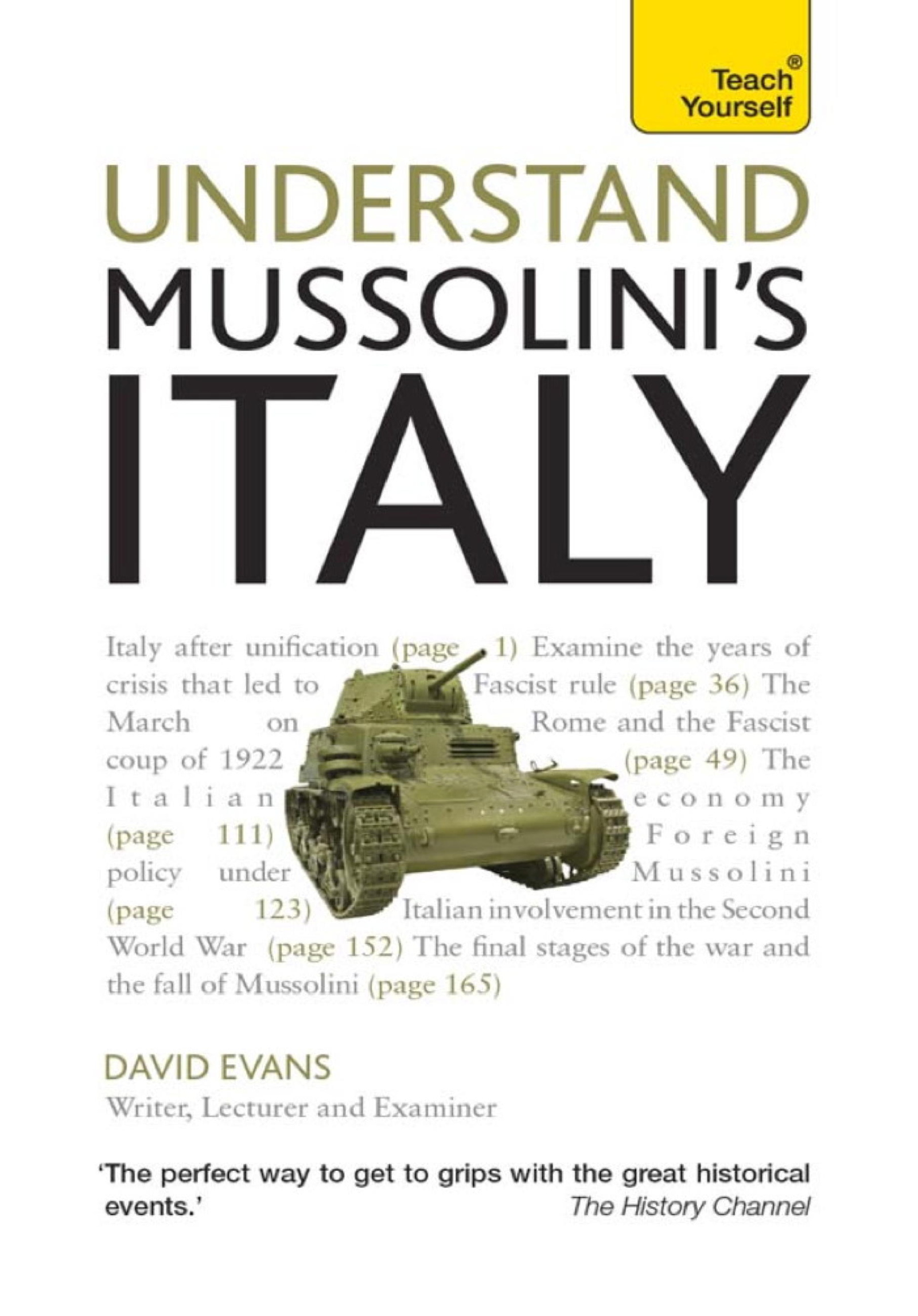 Mussolini's Italy: Teach Yourself Ebook