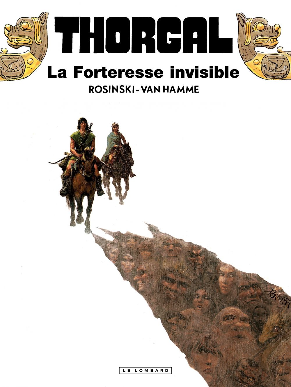 Thorgal - Tome 19 - Forteresse invisible (La)