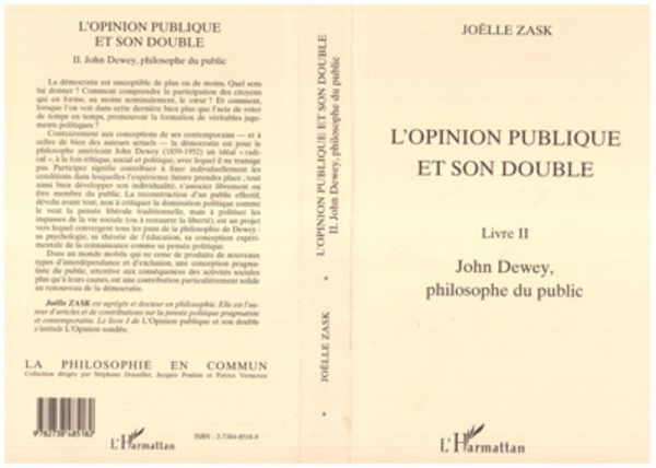 L'OPINION PUBLIQUE ET SON DOUBLE