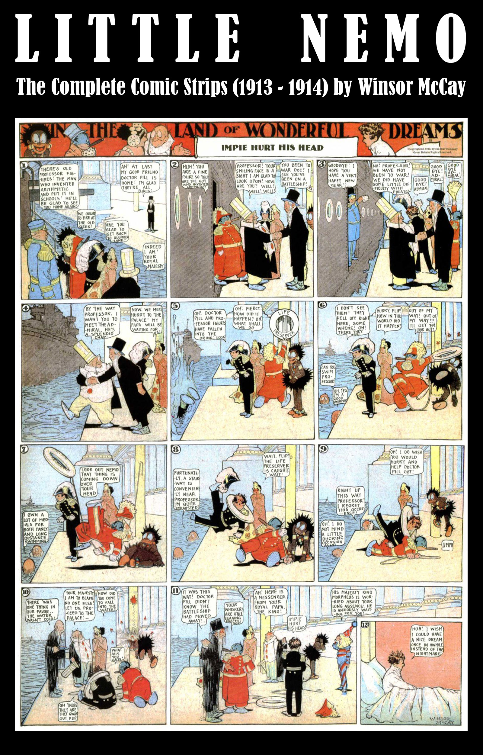 Little Nemo - The Complete Comic Strips (1913 - 1914) by Winsor McCay (Platinum Age Vintage Comics)