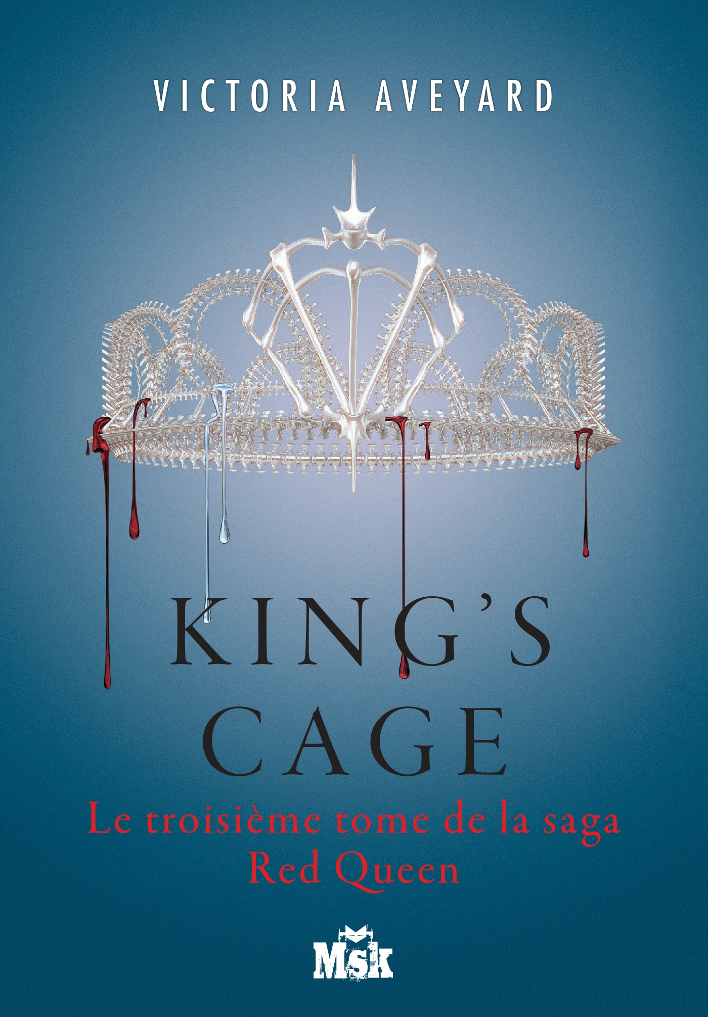 King's Cage, RED QUEEN - TOME 3