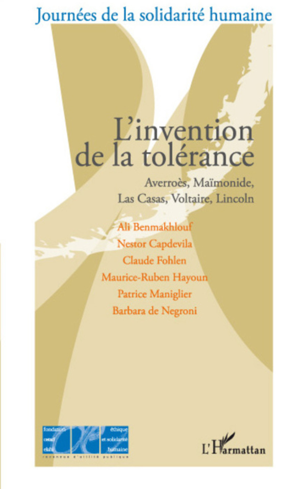 L'invention de la tolérance