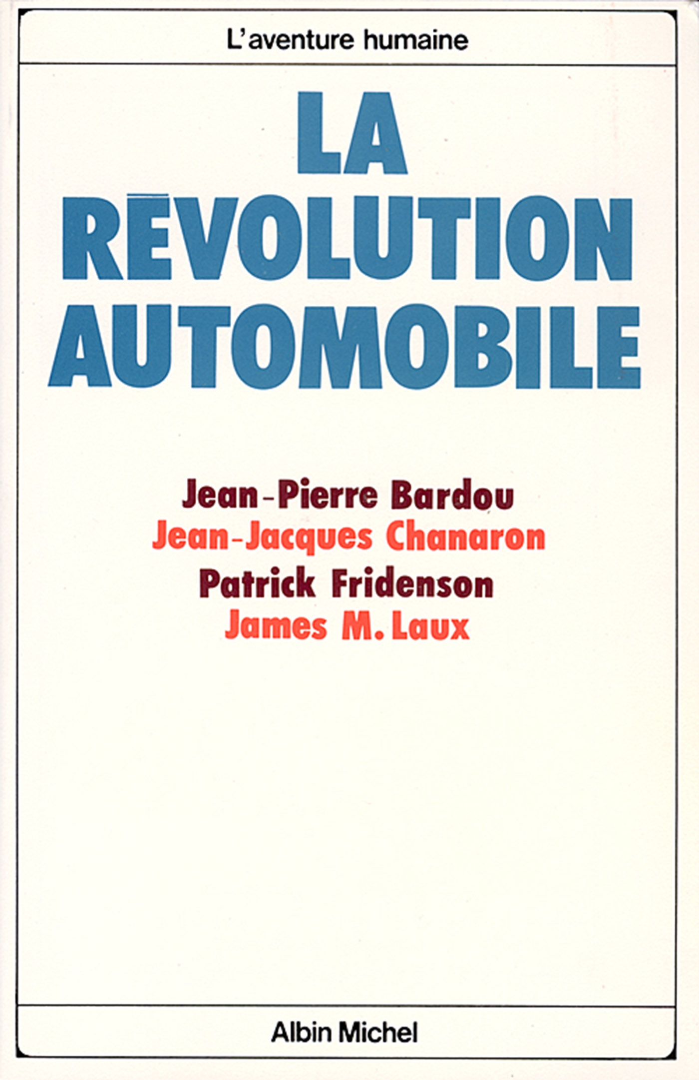 La Révolution automobile