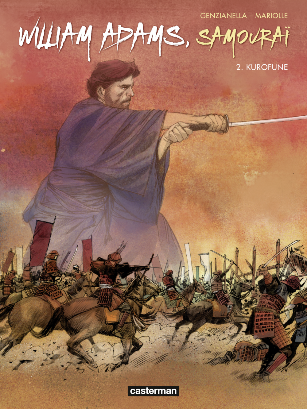 William Adams, Samouraï (Tome 2) - Kurofune