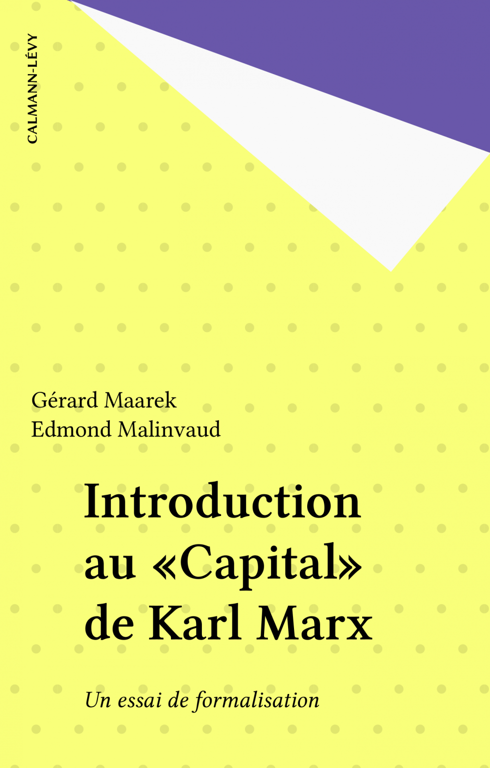 Introduction au «Capital» de Karl Marx