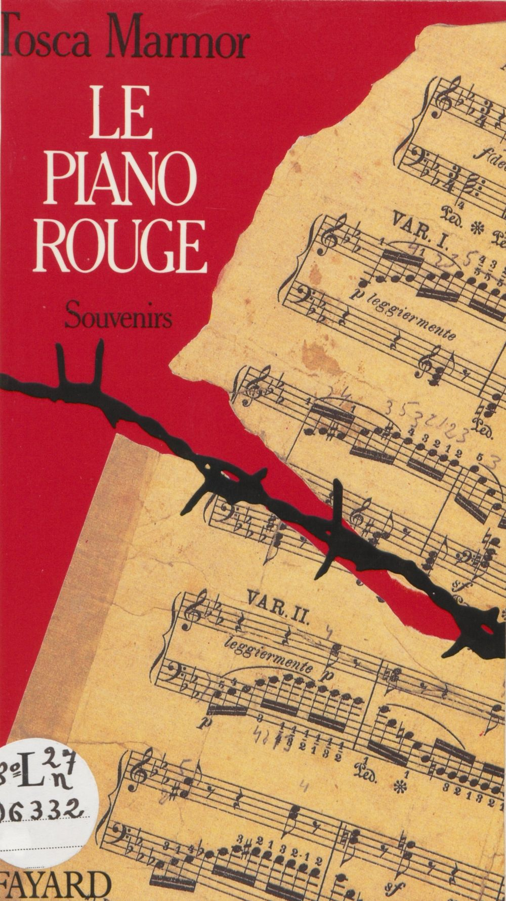 Le piano rouge