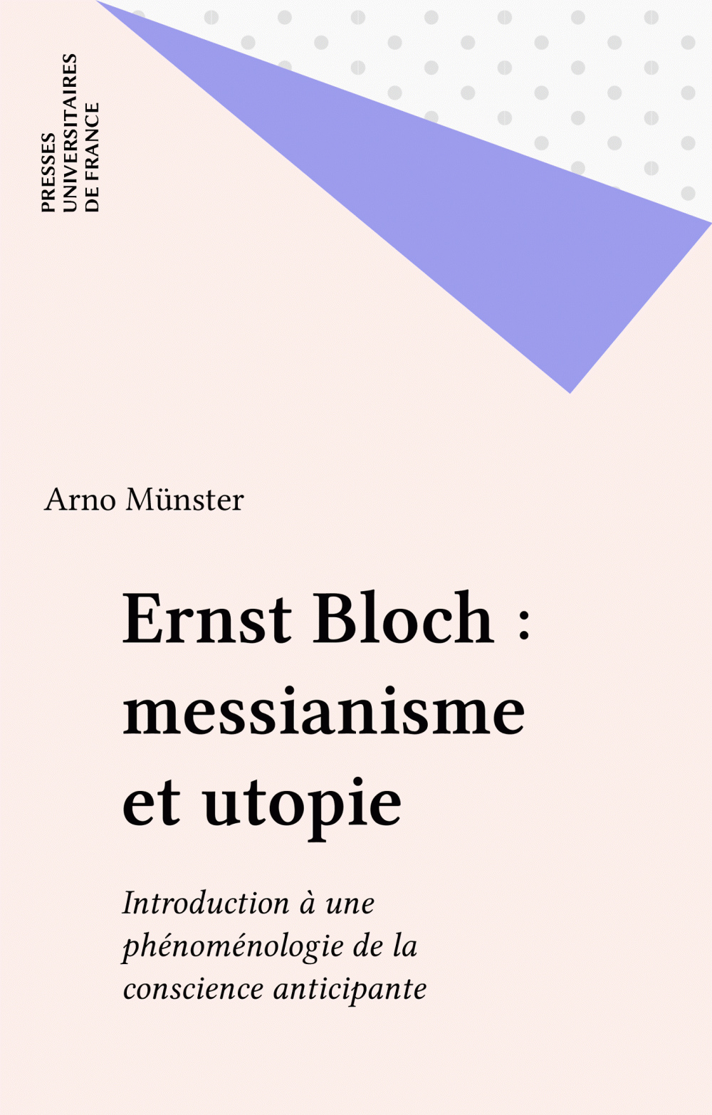 Ernst Bloch : messianisme et utopie