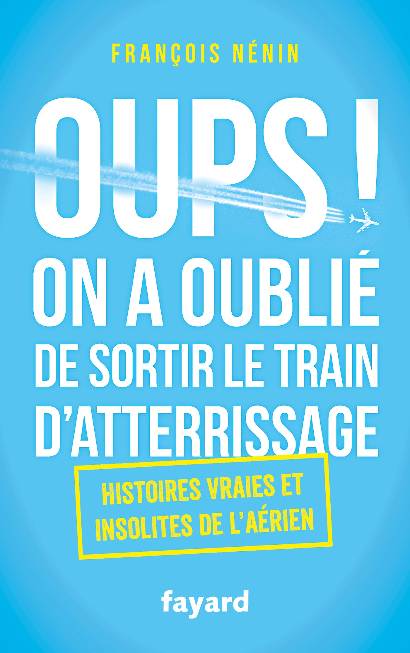 Oups ! On a oublié de sortir le train d'atterrissage