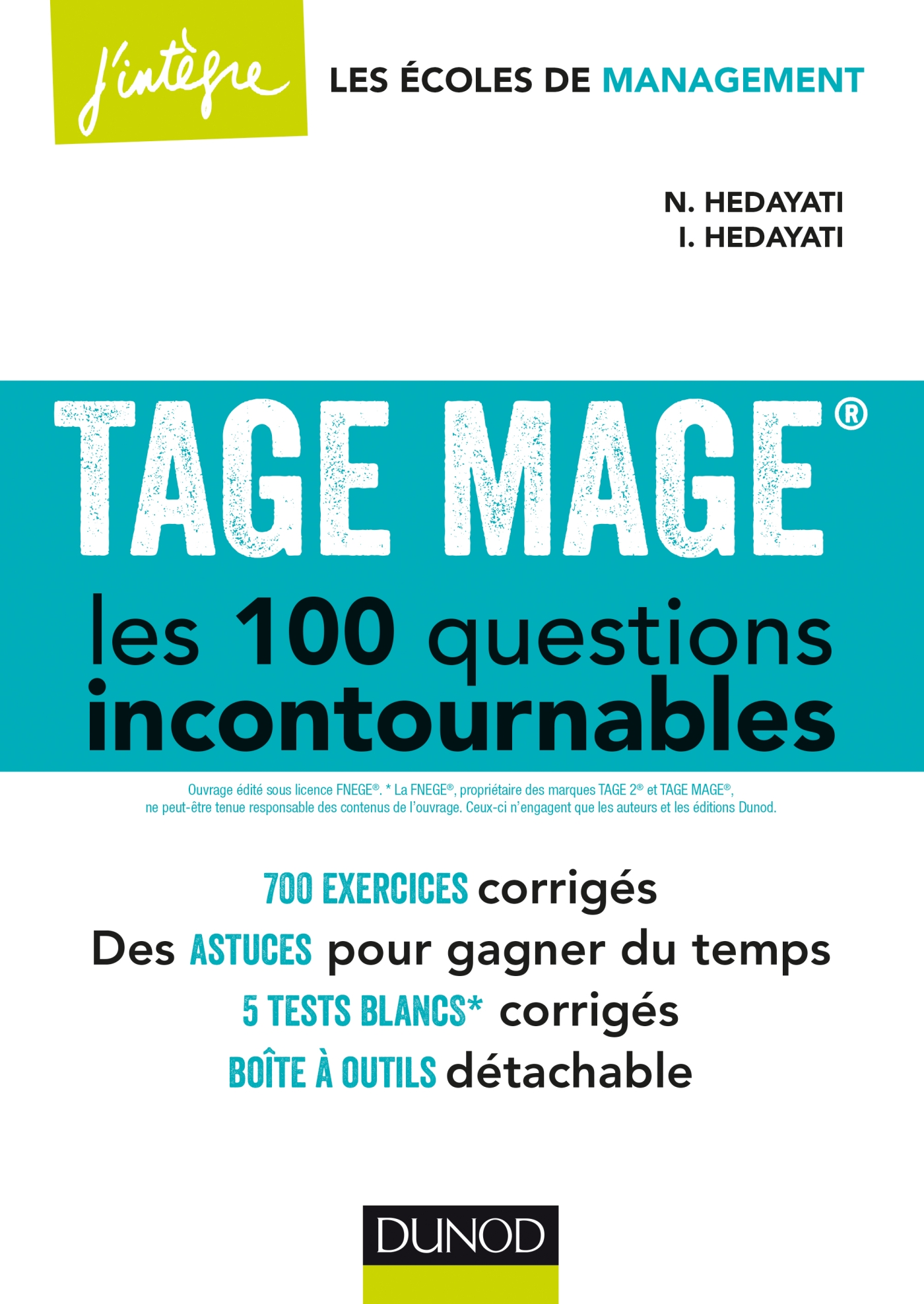 TAGE MAGE® Les 100 questions incontournables